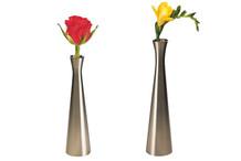 Vase soliflore évasé zinc