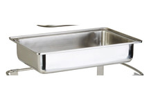 Bac bain-marie pour chafing dish Elite, Window et Caterer