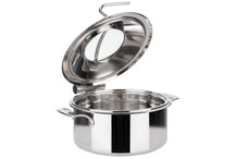 Chafing dish rond 4 L