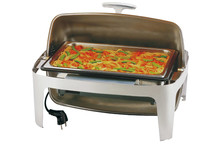 Chafing dish GN 1/1 couvercle Roll-Top Elite