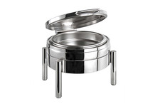 Chafing dish rond 6 L Premium