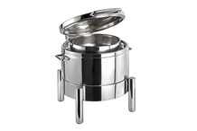 Chafing dish rond 10 L Premium