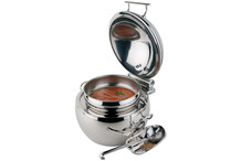 Chafing dish rond collection Globe 10 L
