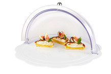 Cloche transparente roll-top Ø 38 cm