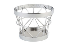 Support / corbeille en métal Ø 10,5 / 8 cm collection Baskets