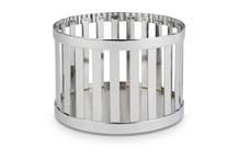 Support / corbeille Riser aspect chrome Baskets
