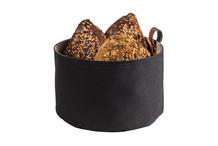 Corbeille à pain ronde synthétique bicolore
