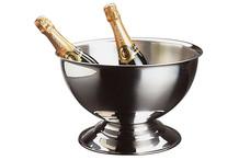 Vasque à champagne inox