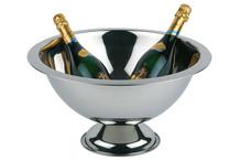 Vasque à champagne inox bord mat