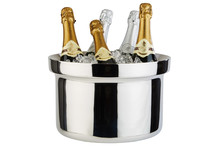 Seau à champagne inox double paroi