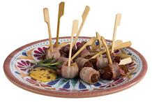 Assiettes Arabesque