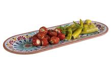 Plateau / assiette ovale Arabesque