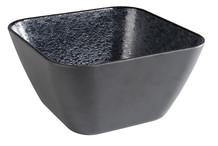 Saladier noir carré Dark Wave