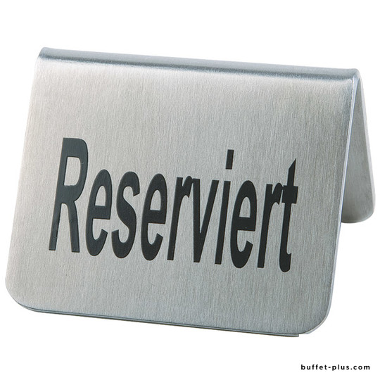 Set de 2 chevalets de table avec inscription