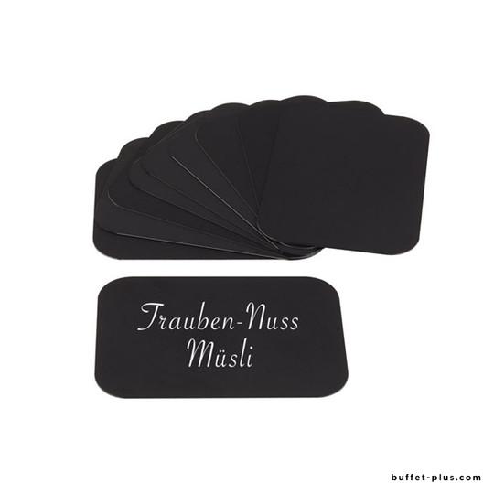 Cartes noires pour chevalets de table