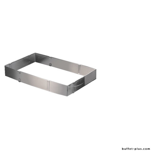Cercle à pâtisserie rectangle ajustable