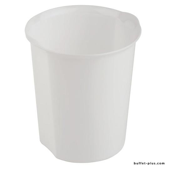 Poubelle de table blanche ou noire