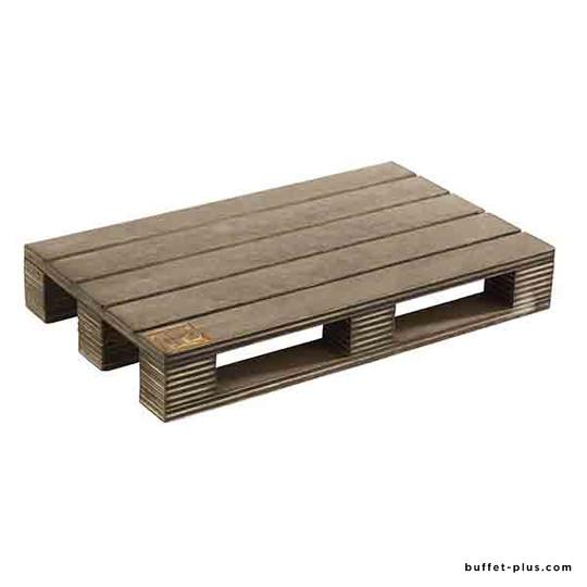 Planche de service en bois aspect palette