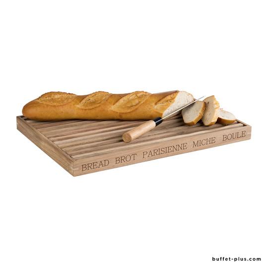 Planche à pain avec plateau bois Letter