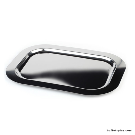 Plateau inox bord plat collection Finesse