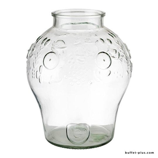 Bonbonne verre fontaine Fruits