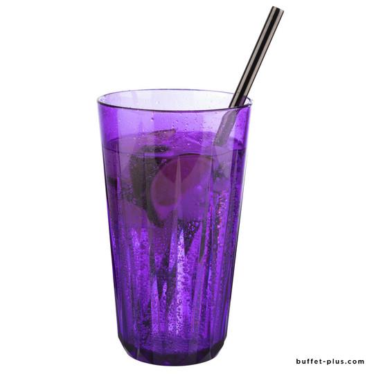 Gobelet violet Crystal, carton de 48 gobelets