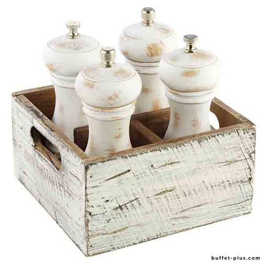 Caddy de table quatre compartiments Vintage