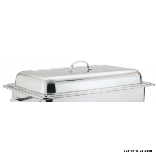 Couvercle pour chafing dish InoxStar et modèle PP & inox