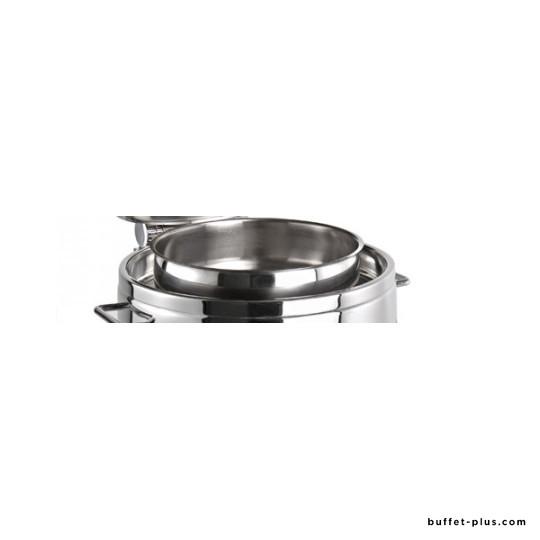 Bac supérieur rond pour chafing dish Premium ou Globe 10 L