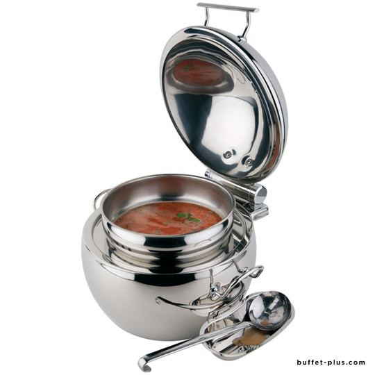 Chafing dish rond Globe 10 L