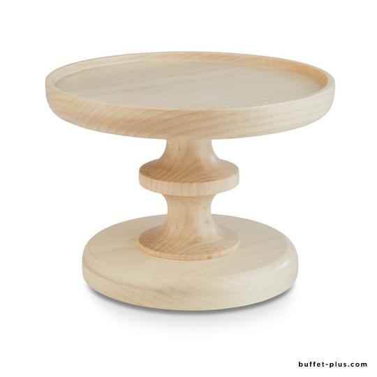 Guéridon bois chêne foncé ou érable Wood