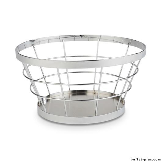 Support / corbeille en métal Ø 21 / 15 cm Baskets