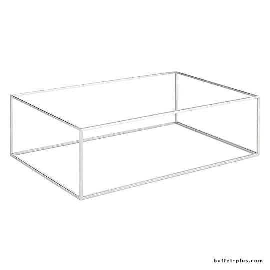 Support rectangulaire en métal pour plateaux GN Asia +
