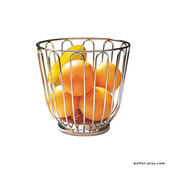Corbeille à fruits inox