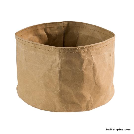 Corbeilles à pain rondes Paperbag kraft