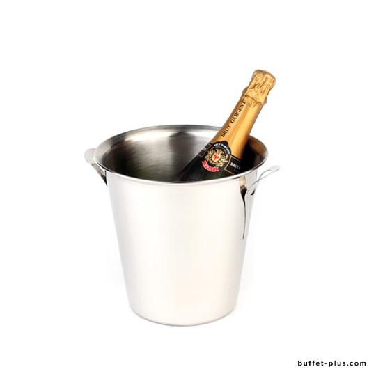Seau à vin ou champagne inox 2 anses