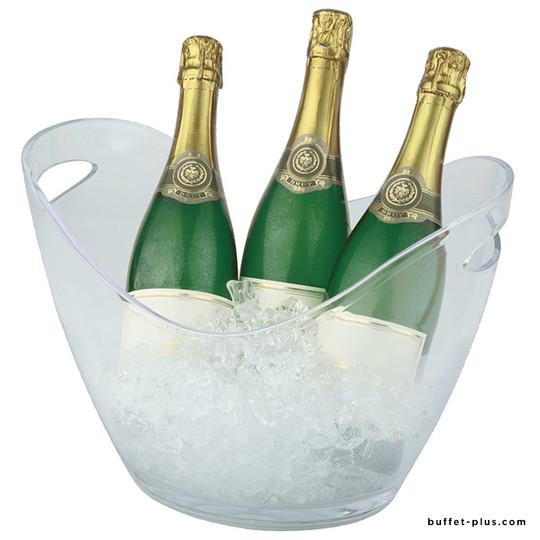 Seau à vin ou champagne deux poignées