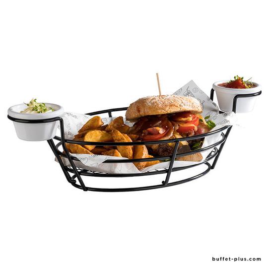 Corbeille Burger et Frites