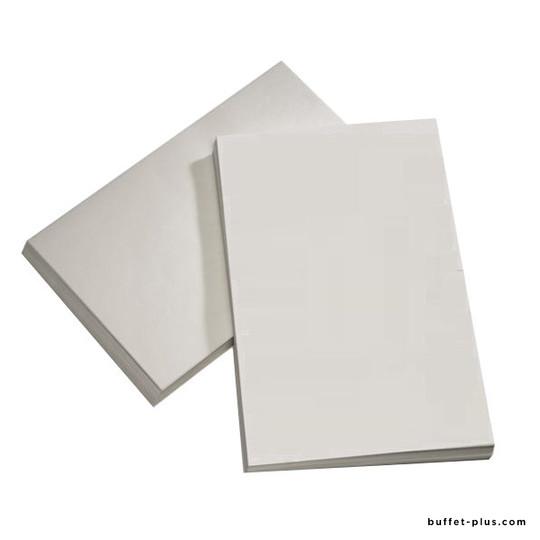 Papier alimentaire blanc