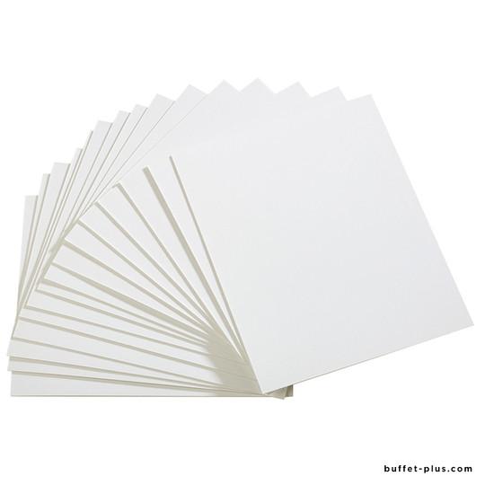 Set de 50 cartons pour supports de table