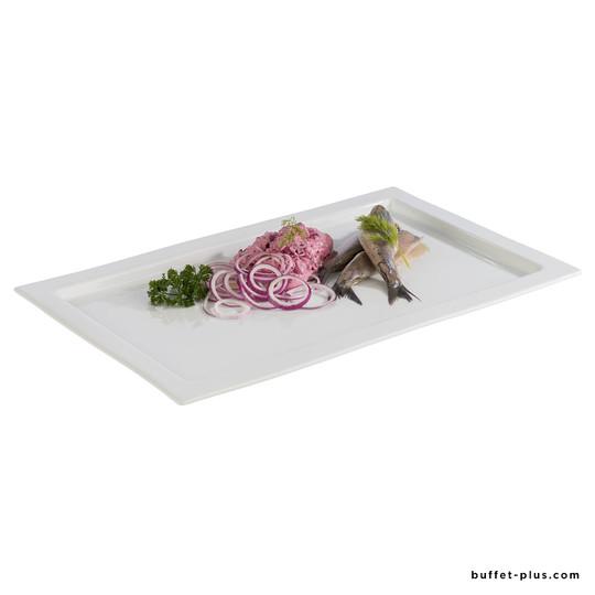 Plateaux GN Frames porcelaine
