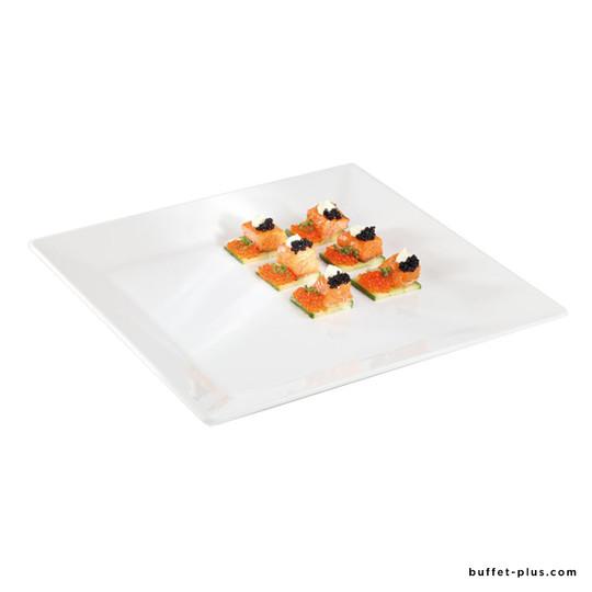 Assiette / plateau carré Pure