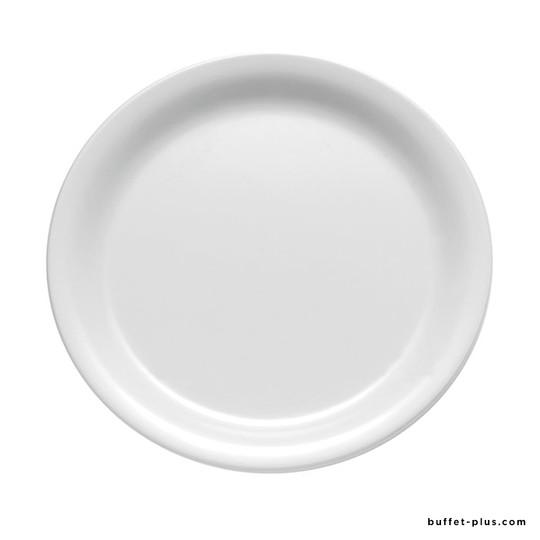 Assiette blanche Casual