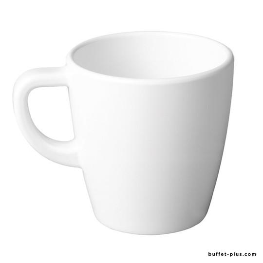 Tasse à café blanche Casual