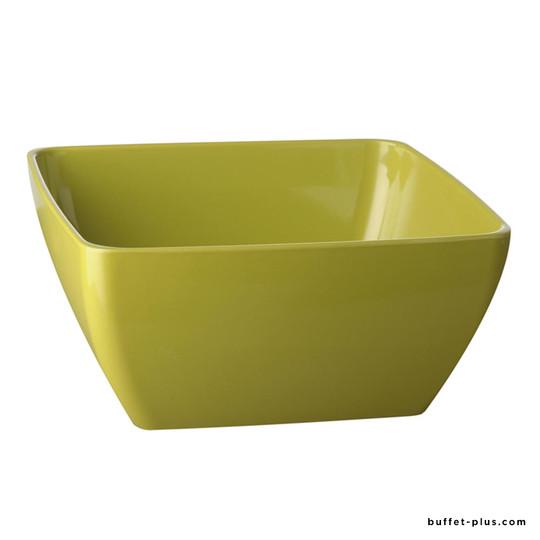 Bol / saladier carré vert Pure Color