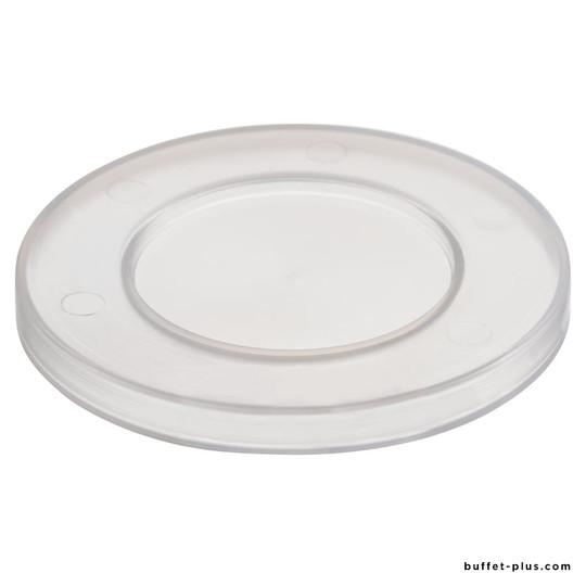 Lot de 5 couvercles hermétiques transparents ronds