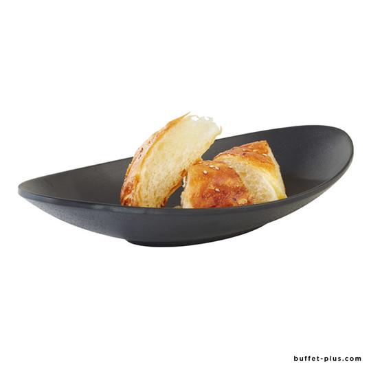 Assiette creuse ovale Zen
