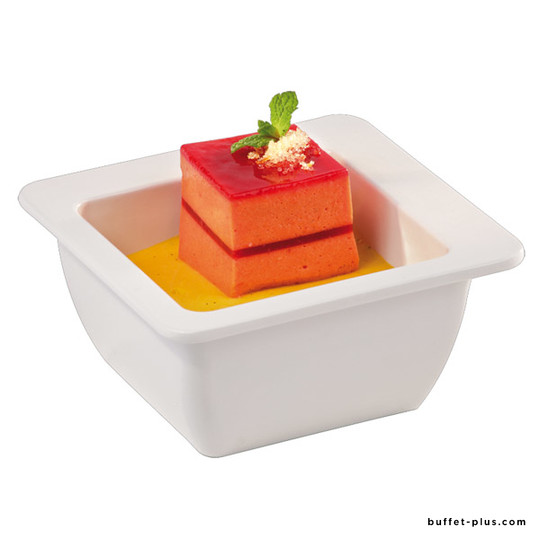 Bol / saladier carré blanc Appart