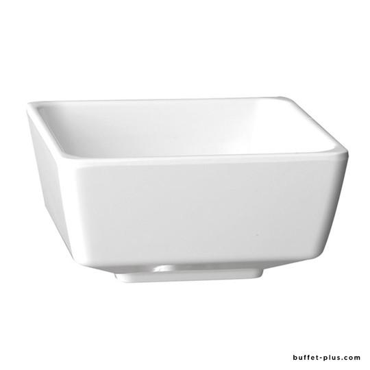 Bol / saladier carré noir ou blanc Float