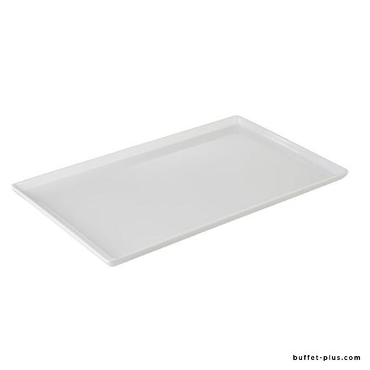 Plateau mélamine noir ou blanc GN Float